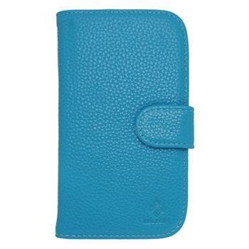 Peňaženkové puzdro Samsung Galaxy S3 i9300/S3 Neo i9301, modré