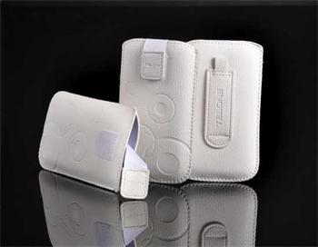 Púzdro DEKO 1 biela, veľkosť 07 pre telefóny LG KP500/Sam S5230/HTC Wildfire/Wildfire S/Desire C/Sony Xperia Tipo