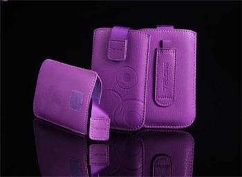Púzdro DEKO 1 fialová, veľkosť 07 pre telefóny LG KP500/Sam S5230/HTC Wildfire/Wildfire S/Desire C/Sony Xperia Tipo