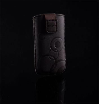 Púzdro DEKO 1 hnedé, veľkosť 08 pre telefóny LG KU990/Sam B3410/S5570/S6500/S5380/SE Hazel/X8/LG L3