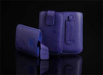 Púzdro DEKO 1 modré, veľkosť 10 pre telefóny HTC Desire X/Lumia 710/Nokia Lumia 610/Son LT22i/Iphone 5
