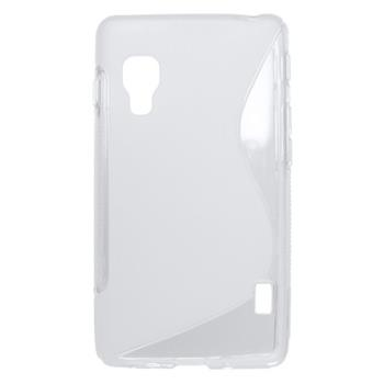 Puzdro gumené LG Optimus L5 II transparentné