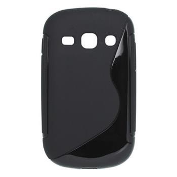 Puzdro gumené Samsung S6810 Galaxy Fame čierne