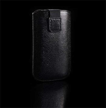 Púzdro SNAKE, Čierna, HTC WILDFIRE, WILDFIRE S, LG BL20, GT500, GT505, KP500, SAM F480, S3650, S5230, S5620
