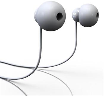 Radiopaq Dots Stereo Headset 3,5mm White (EU Blister)