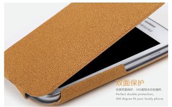ROCK Eternal Flip Kožené Pouzdro pro Samsung S7562 Galaxy S Duos Orange