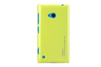 ROCK Extra Shell Zadní Kryt pro Nokia Lumia 720 Yellow