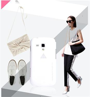 ROCK Extra Shell Zadní Kryt pro Samsung S7562 Galaxy S Duos White
