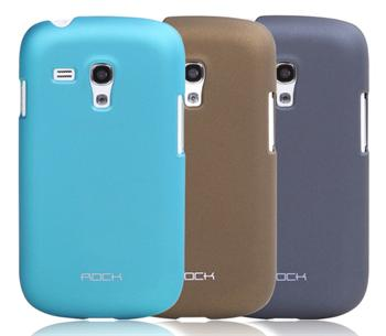 ROCK Hard Shell Zadní Kryt pro Samsung i8190 Galaxy S3mini Coffee