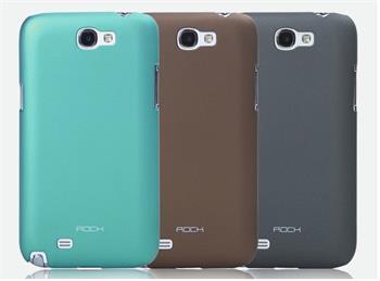 ROCK Hard Shell Zadní Kryt pro Samsung N7100 Galaxy Note2 Tmavo Šedý