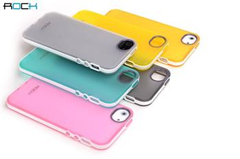 ROCK JoyFul TPU Pouzdro pro iPhone 5, 5S, SE Orange