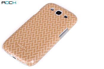 ROCK Luxury Shell Zadní Kryt pro Samsung (i9300/S3 i9301 Neo) S3 Light Khaki