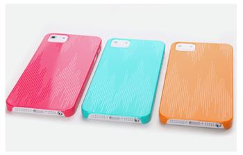 ROCK Texture Extra Tenký 0,5mm Zadní Kryt pro iPhone 5, 5S, SE Orange