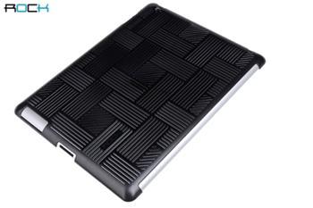 ROCK Wind Protective Shell Zadní Kryt pro iPad 2, iPad 3, the New iPad Black