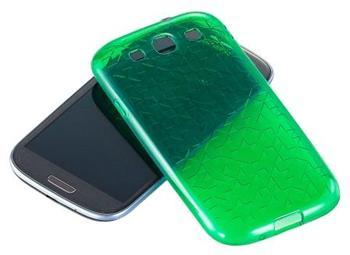 SAMGSVTPUGR Samsung Original TPU Pouzdro Green pro i9300 (EU Blister)