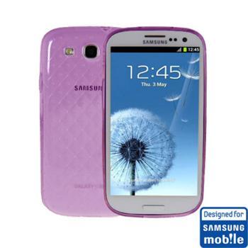 SAMGSVTPUPU Samsung Original TPU Pouzdro Purple pro (i9300/S3 i9301 Neo) (EU Blister)