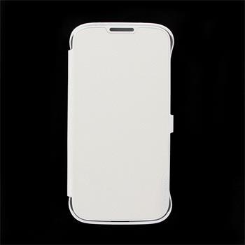 SAMS4CWH Made by Samsung Kožené Folio Pouzdro White pro S4 i9505 (EU Blister)