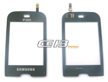 Samsung B5722 Black sklíčko plus dotyková deska