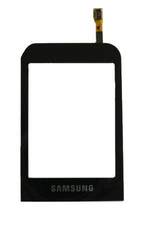 Samsung C3300 Black sklíčko+dotyková deska