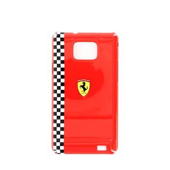 Samsung i9100/i9105 FEFOG2R Ferrari Formula Zadní Kryt Red