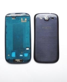 Samsung i9300 Ceramic Blue Kompletní Kryt