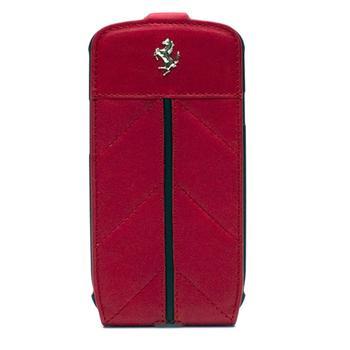 Samsung i9300 Galaxy S3 FECFFLGS3R Ferrari California Kožené Flip Pouzdro Red