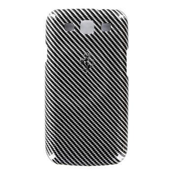 Samsung (i9300/S3 i9301 Neo) Galaxy S3 FEFCHCS3BL Ferrari Zadní Kryt Full Carbon