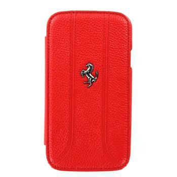 Samsung (i9300/S3 i9301 Neo) Galaxy S3 FEFFFLBKS3RE Ferrari Kožené Folio Pouzdro Red