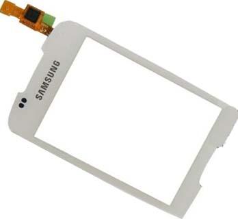 Samsung S5570 White sklíčko plus dotyková deska