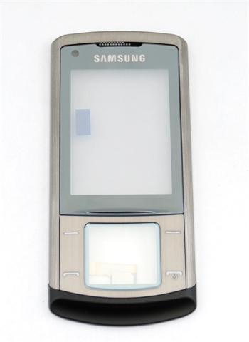 Samsung U900 Grey Přední kryt vč Dotyku
