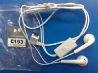 SGEY3748 LG Stereo HF microUSB White (Bulk)