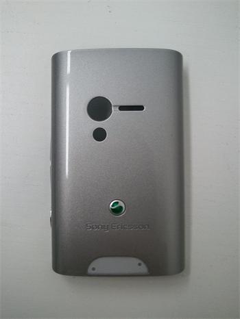 SONY ERICSSON KRYTY X10 mini kryt na batériu Silver