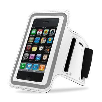 Sports Armband Sportovní Pouzdro pro Apple iPhone 5 White (EU Blister)