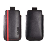 TelOne City Pouzdro Red pro iPhone 4/4S
