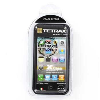 Tetrax XCase Silikonové pouzdro pro Apple iPhone 4/ 4S Black (EU Blister)