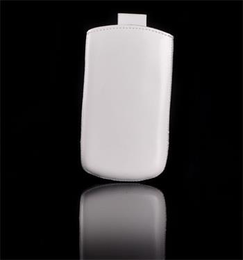 Vsuvka Pravá Koža Future Sony Xperia J ST26i Biela
