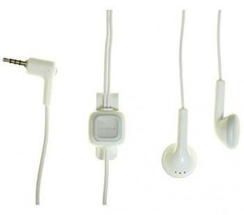 WH-102 (HS-125) Nokia Stereo Headset White (Bulk)